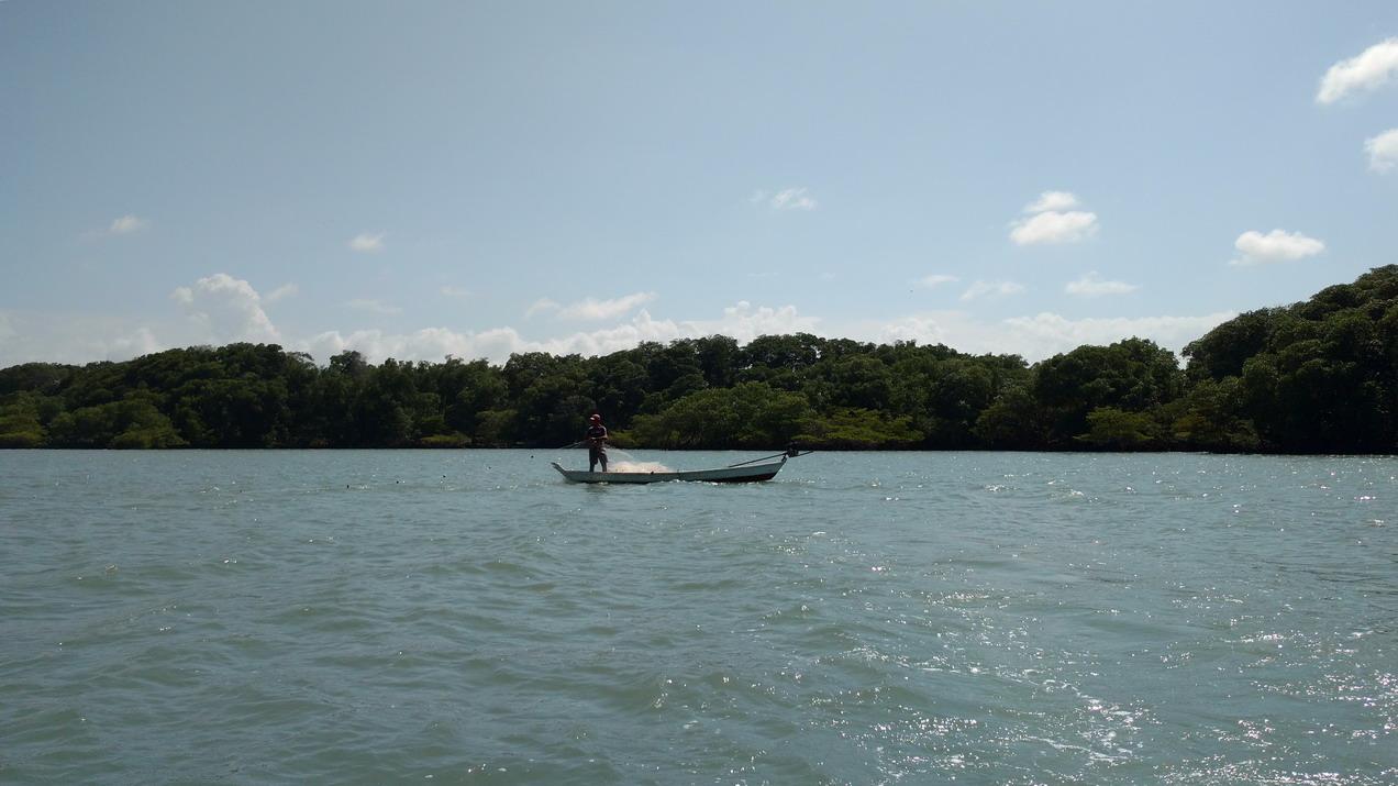 39. Bate Vento, pêche dans le lagon