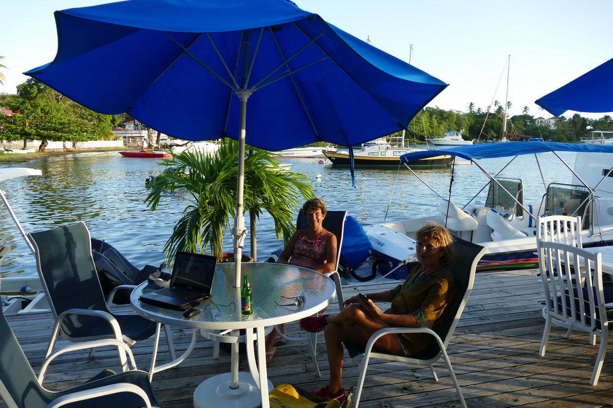 39. St Vincent, Blue lagoon