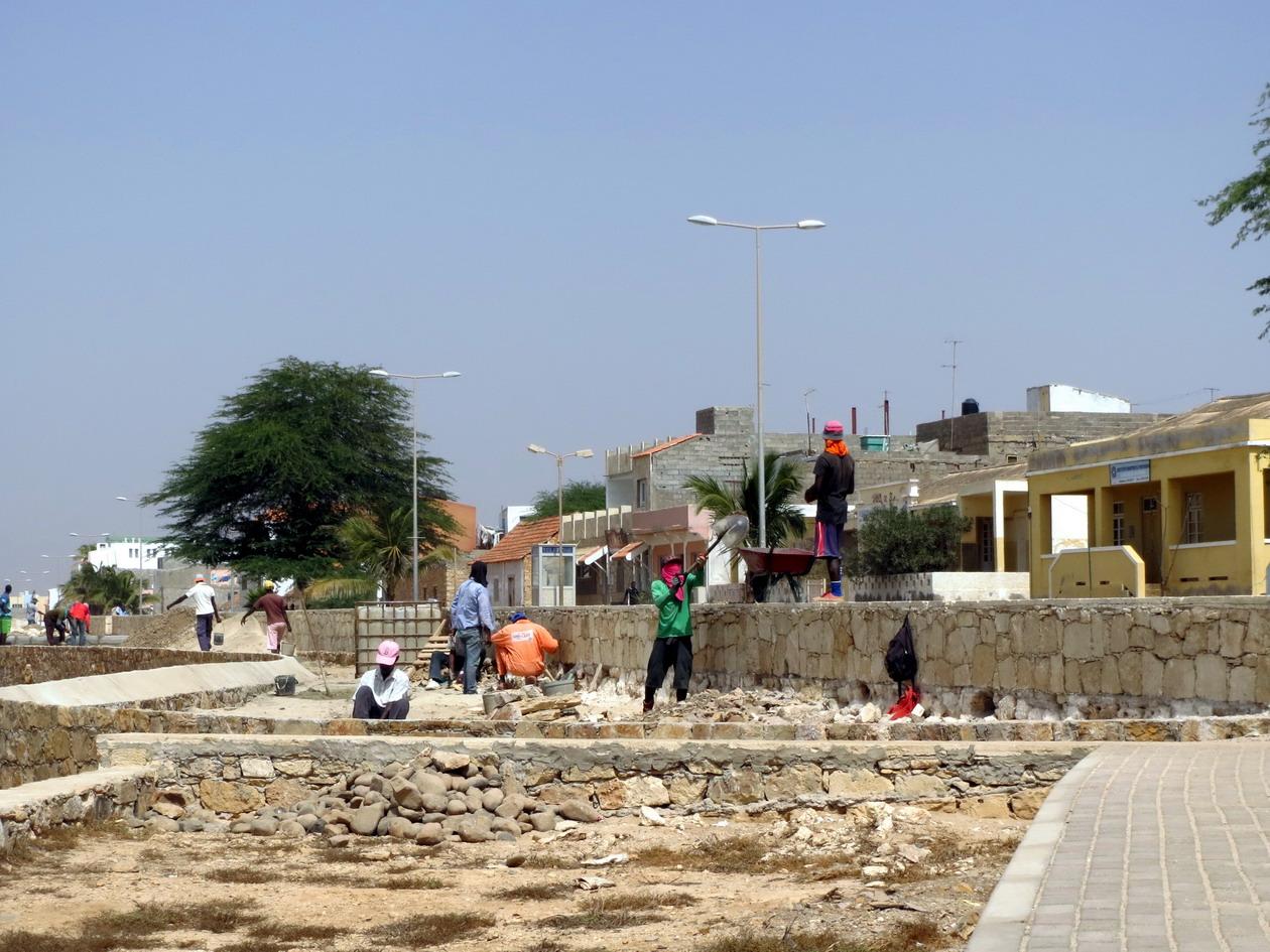 4. Vila do Maio, le front de mer en travaux