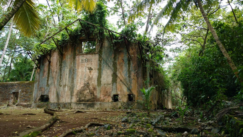 40. Île St Joseph, le pénitencier