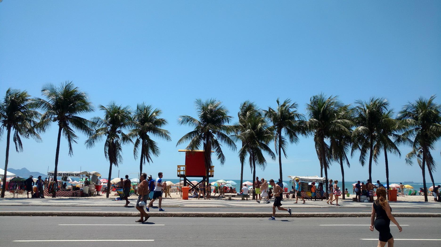 40. Plage de Copacabana
