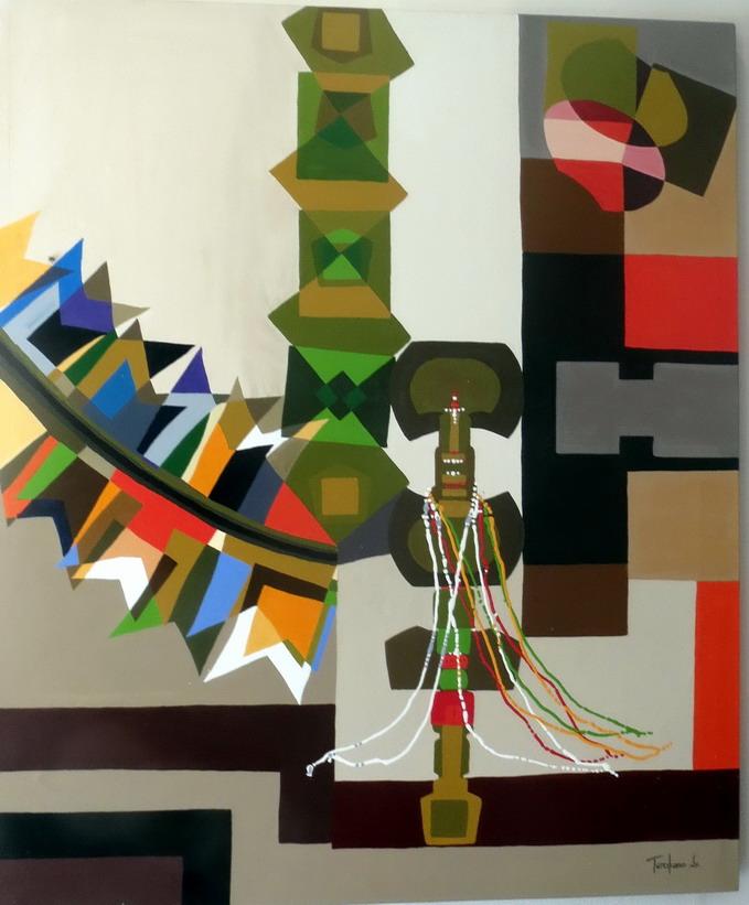 40. SdB, centre historique, musée afro-brésilien, peinture de Terciliano Jr