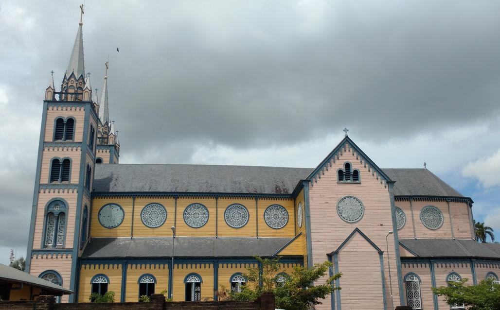 41. Paramaribo, la Basilique