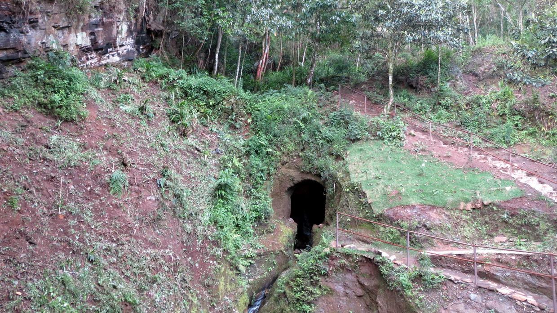 41. Visite d'une mine d'or