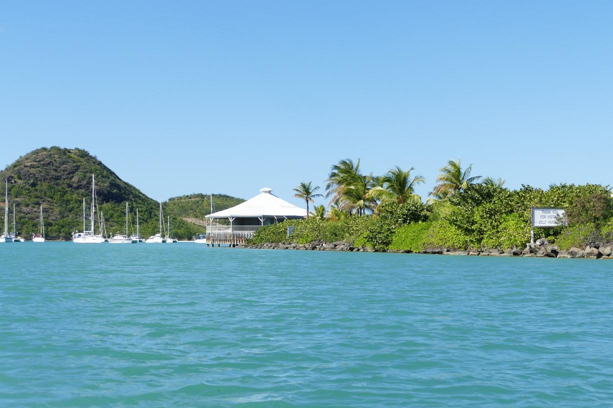 43. Antigua, la lagune de Jolly harbour