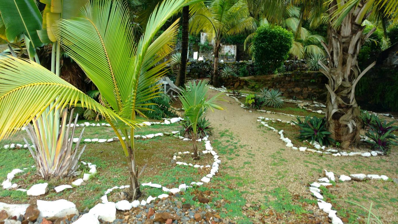 45. Île St Joseph, le jardin aménagé par Bogdan