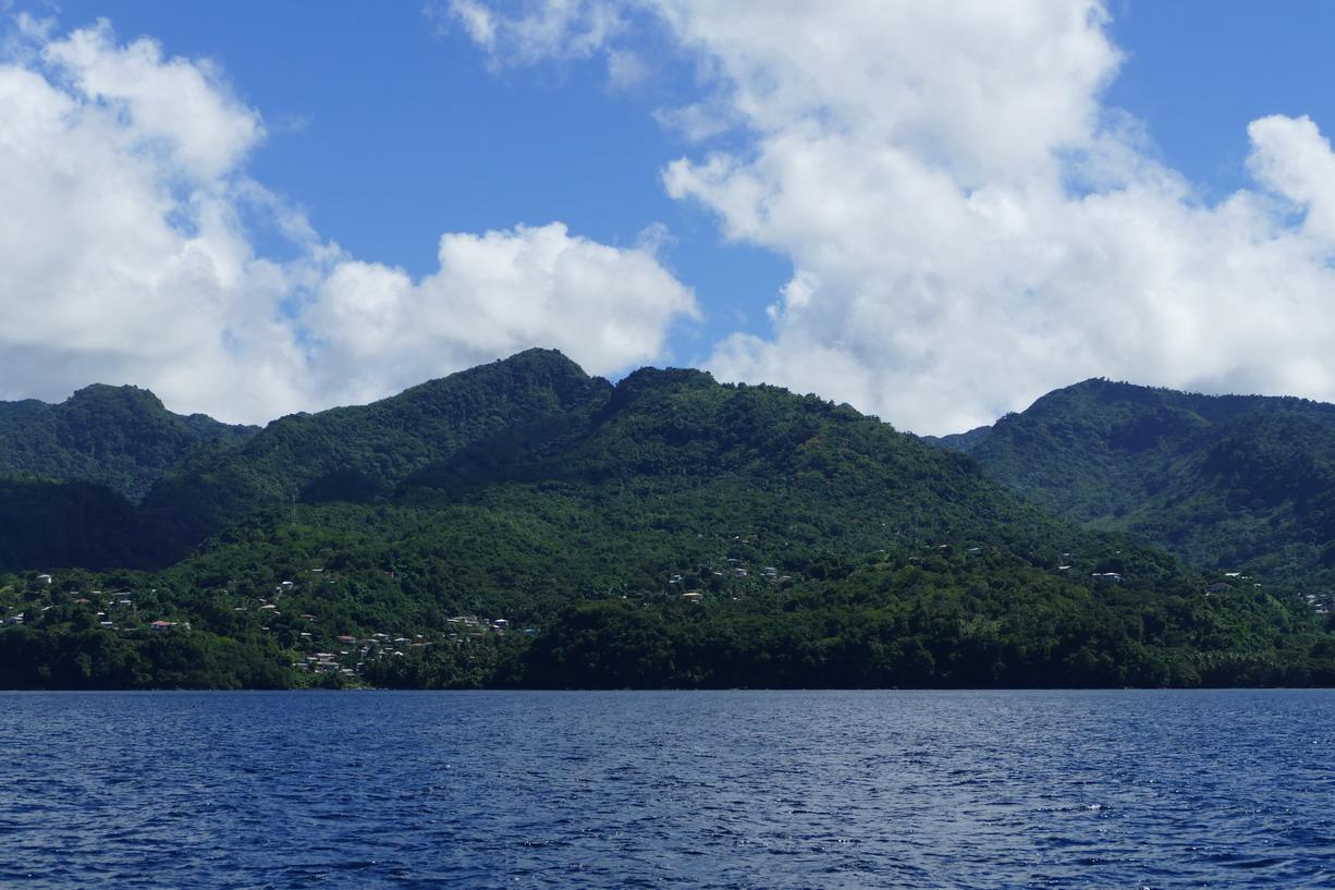 45. Vers la côye nord de la Grenade