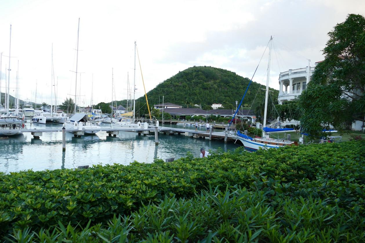 46. La marina de Jolly harbour