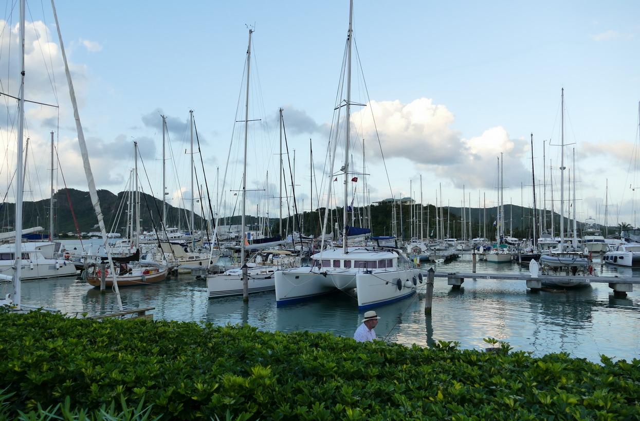 48. La marina de Jolly harbour