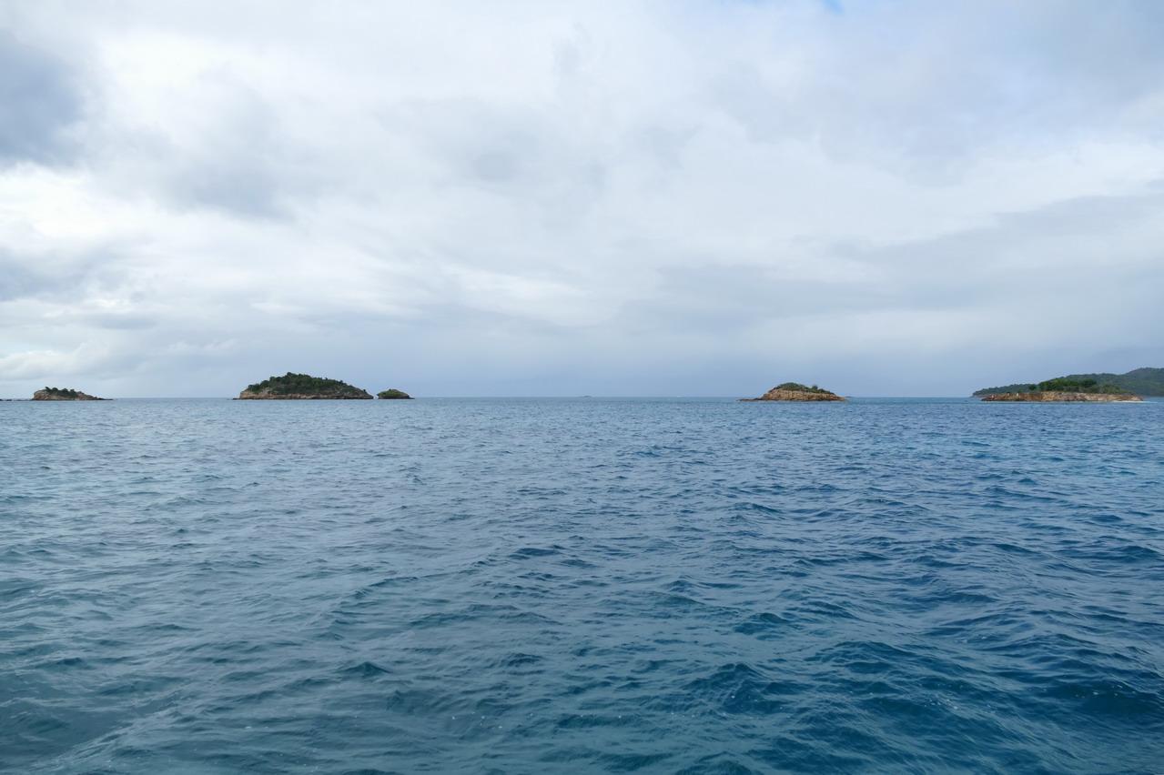 49. Antigua, Jolly harbour, Five islands, direction St Martin à 97 MN