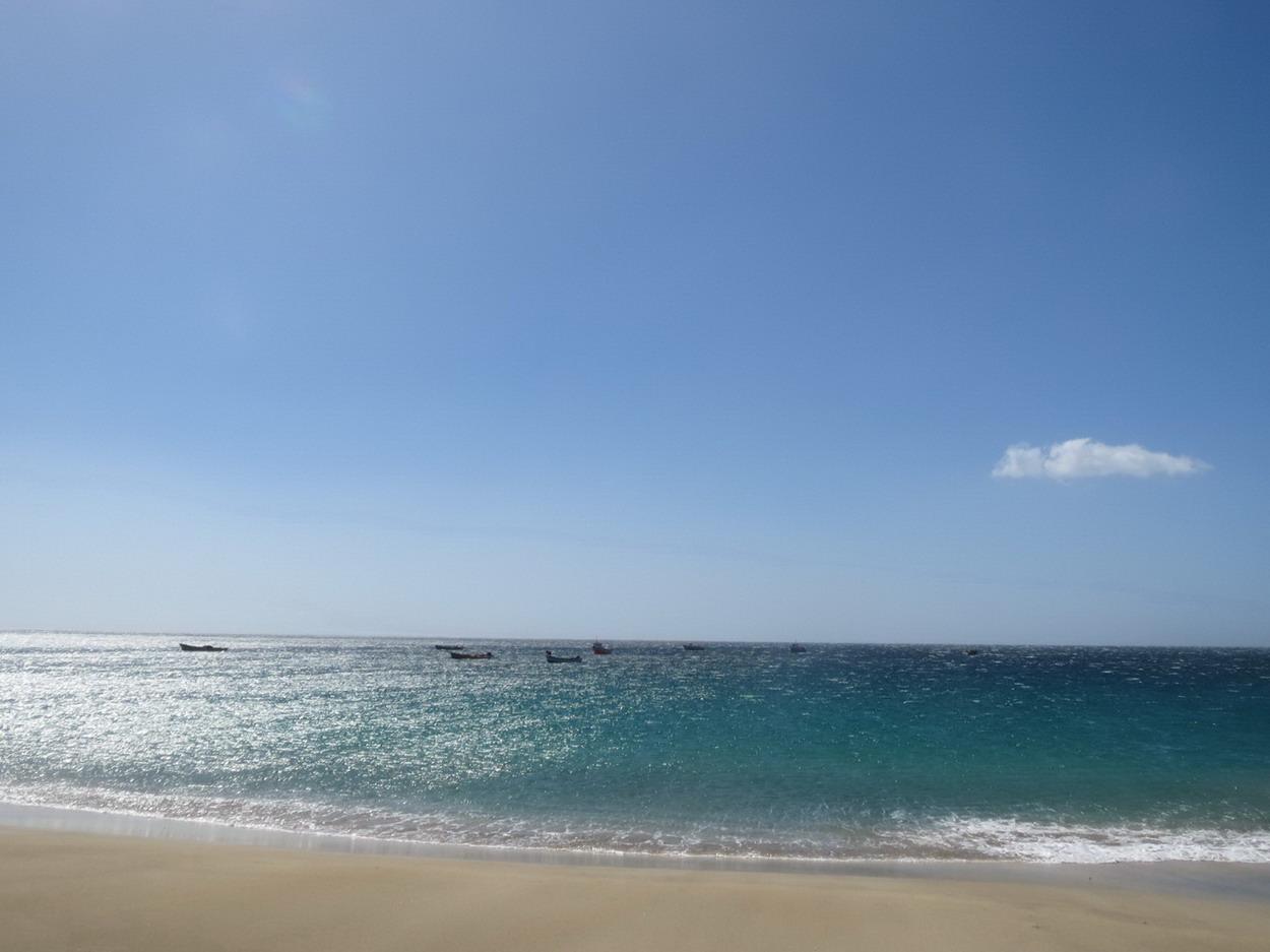 8. La baia de Sao Pedro et ses pêcheurs marqueront le début effectif de notre transat