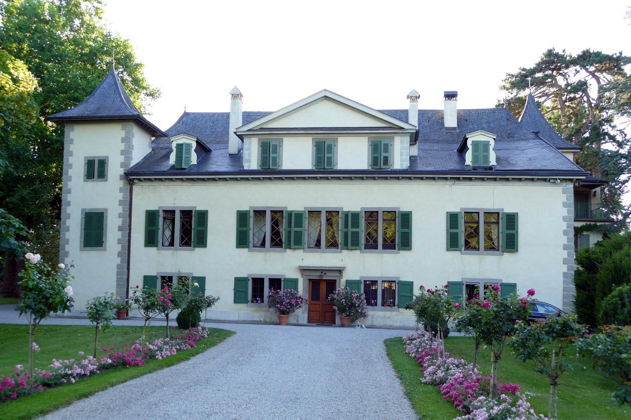 01. Lac Léman, château de Veigy