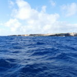 02. L'îlot Tintamarre dans la houle