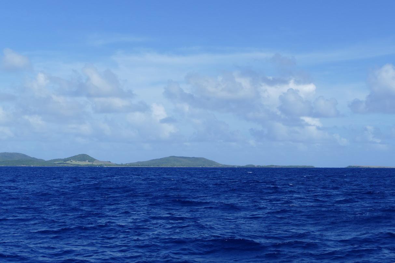 02. La Martinique, pointe SE avec l'îlet Cabrits