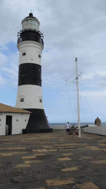 02. Salvador da Bahia, le phare de Barra, le premier des Amériques