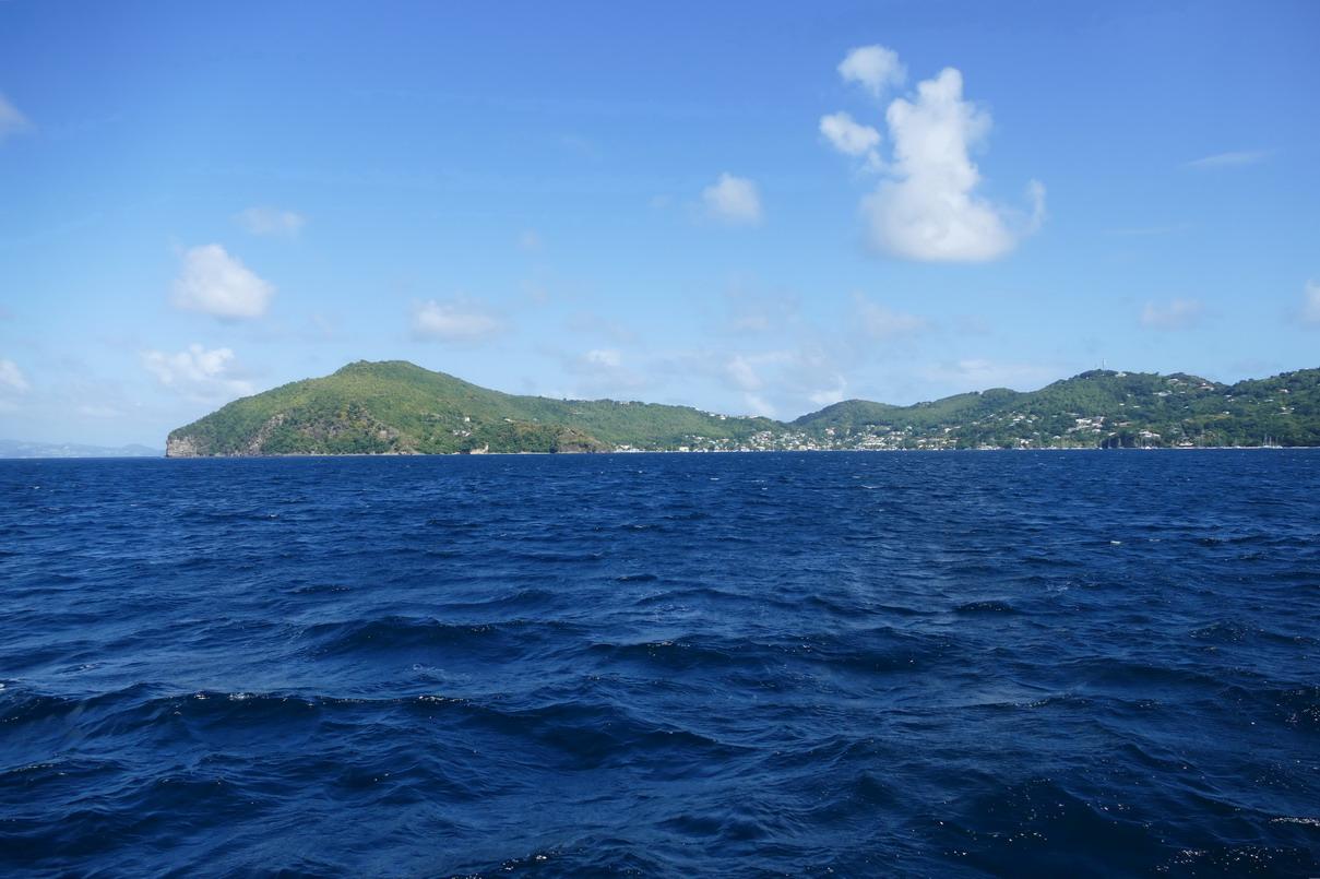 03. Bequia - Port Elisabeth dans le lointain