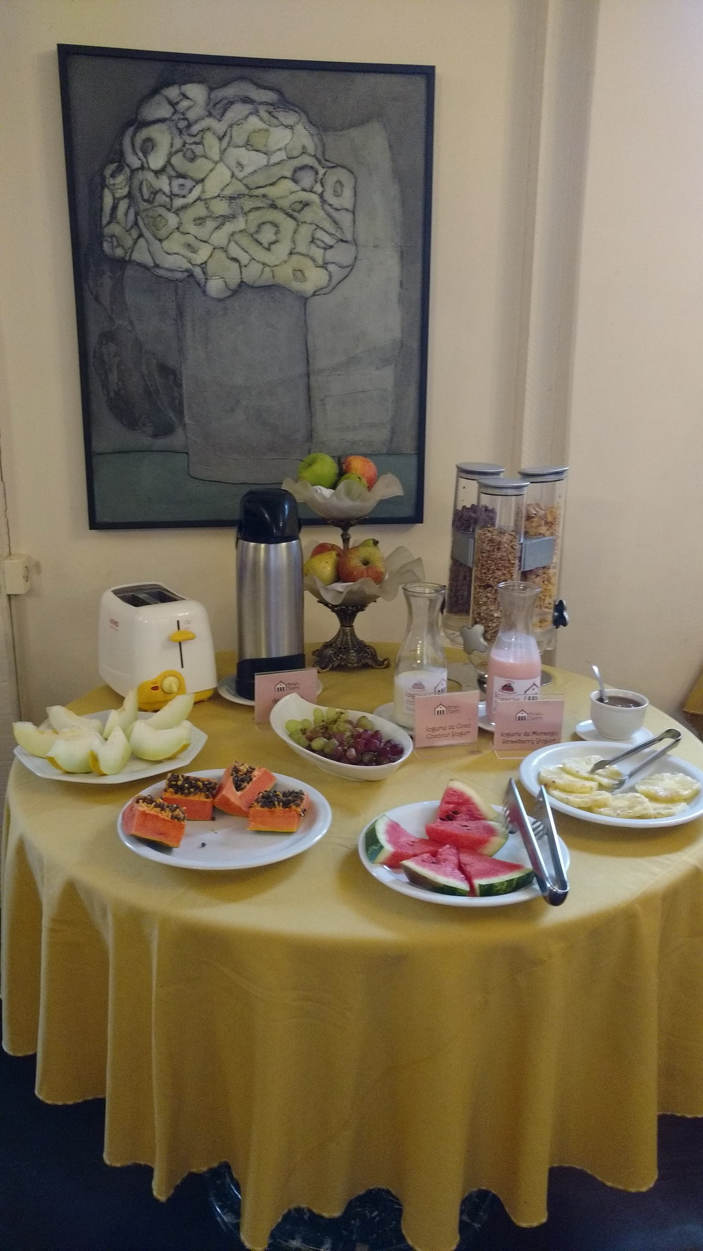 03. Buffet du petit-déjeuner