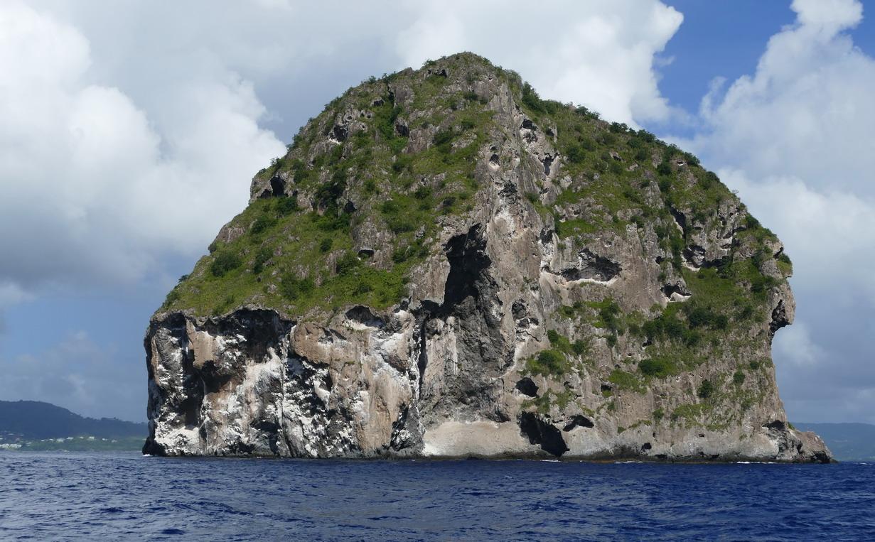03. La Martinique, le muffle du rocher du Diamant