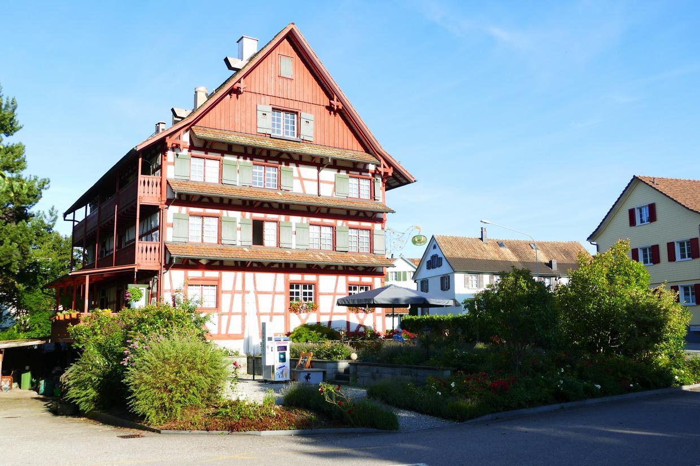 03. Le lac de Constance - Uttwil, notre hôtel garni