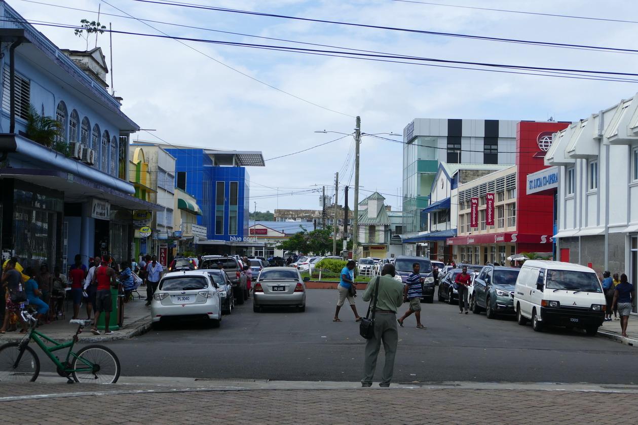04. Castries, la capitale de l'île-état