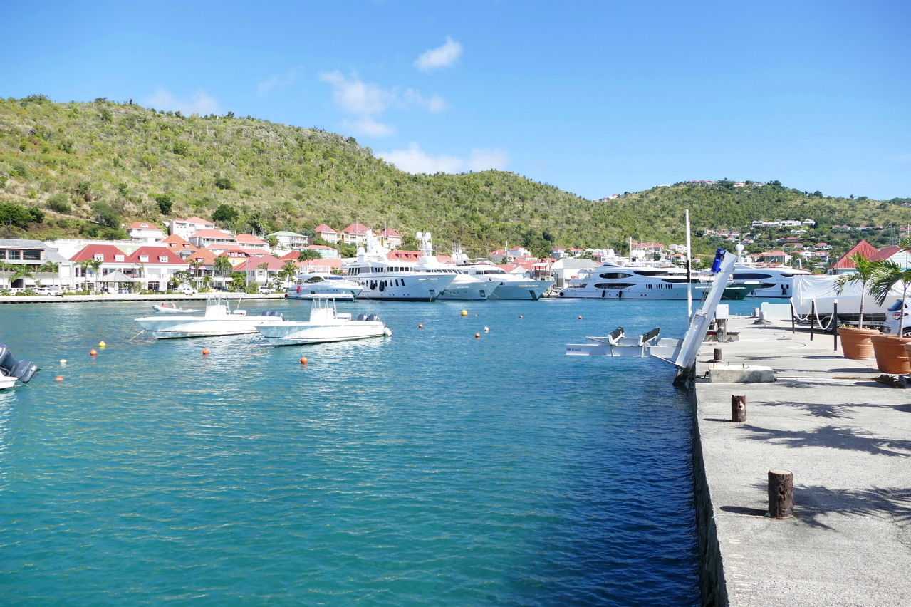 04. St Barth, Gustavia, le port