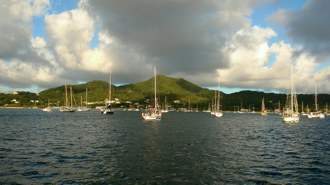 05. Carriacou, mouillage de Tyrrel bay