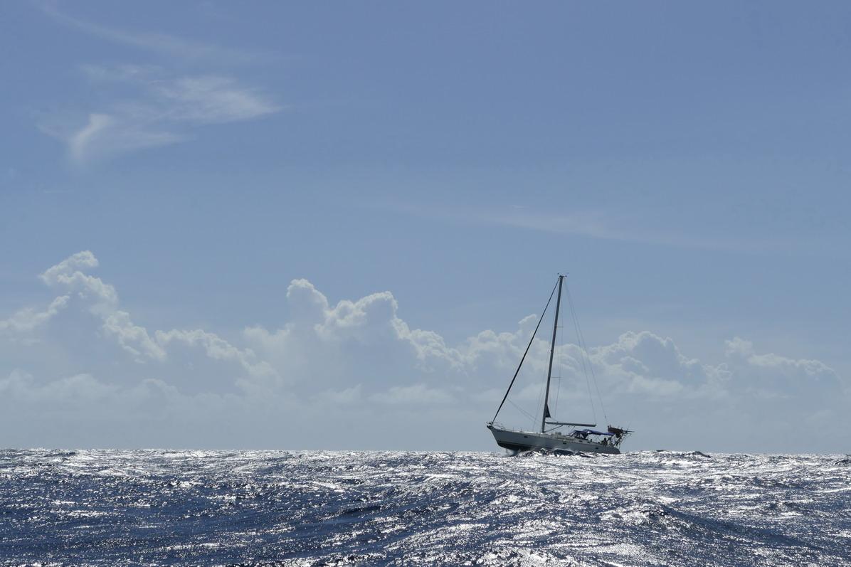 05. Le vent souffle dans les parages du cap Diamant et la mer est agitée