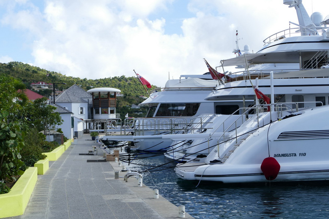 05. St Barth, Gustavia, le port