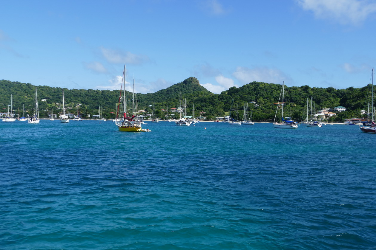 06. Carriacou, mouillage de Tyrrel bay