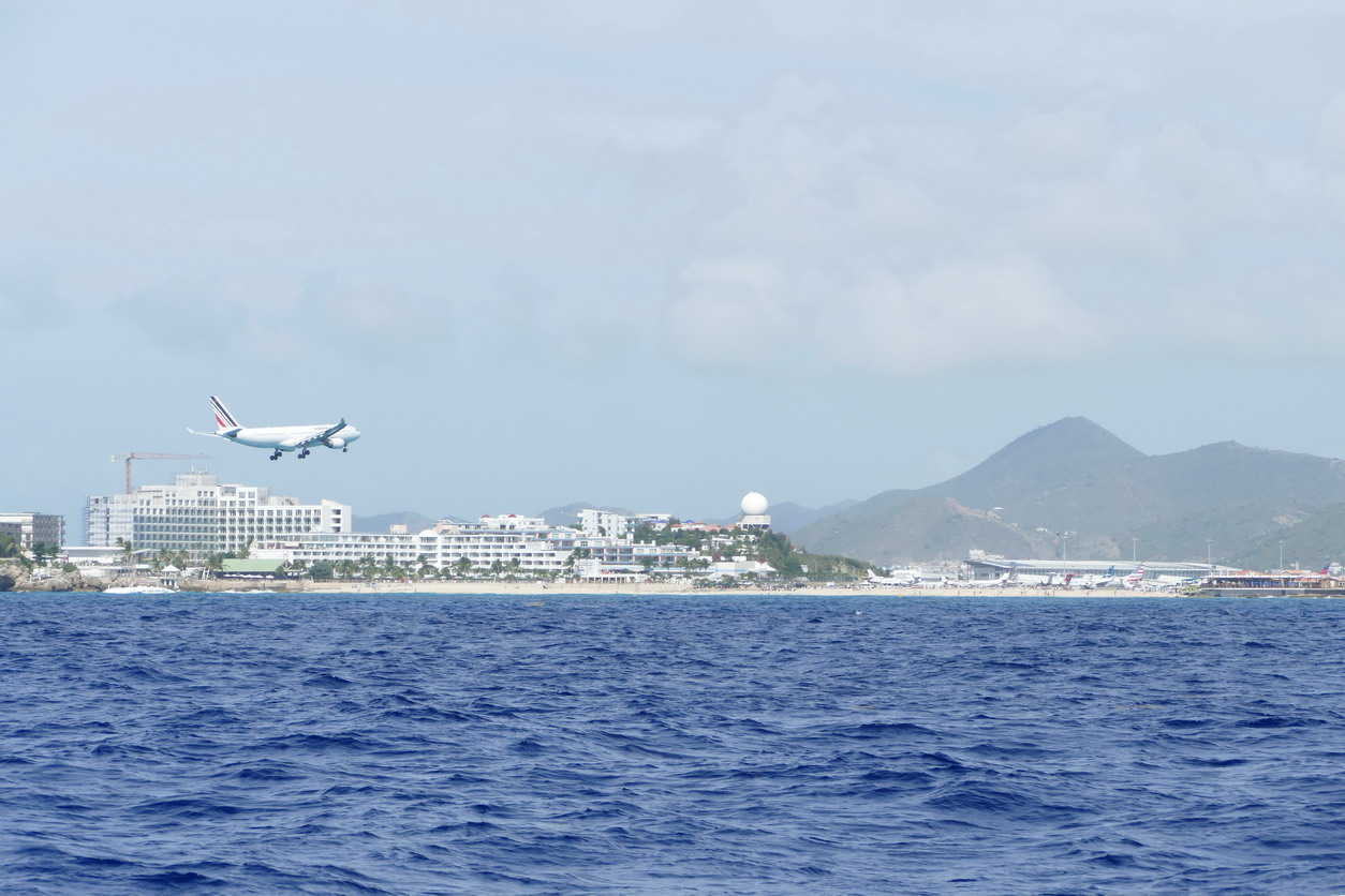 06. Sint Maarten, l'aéroport international Princess Juliana