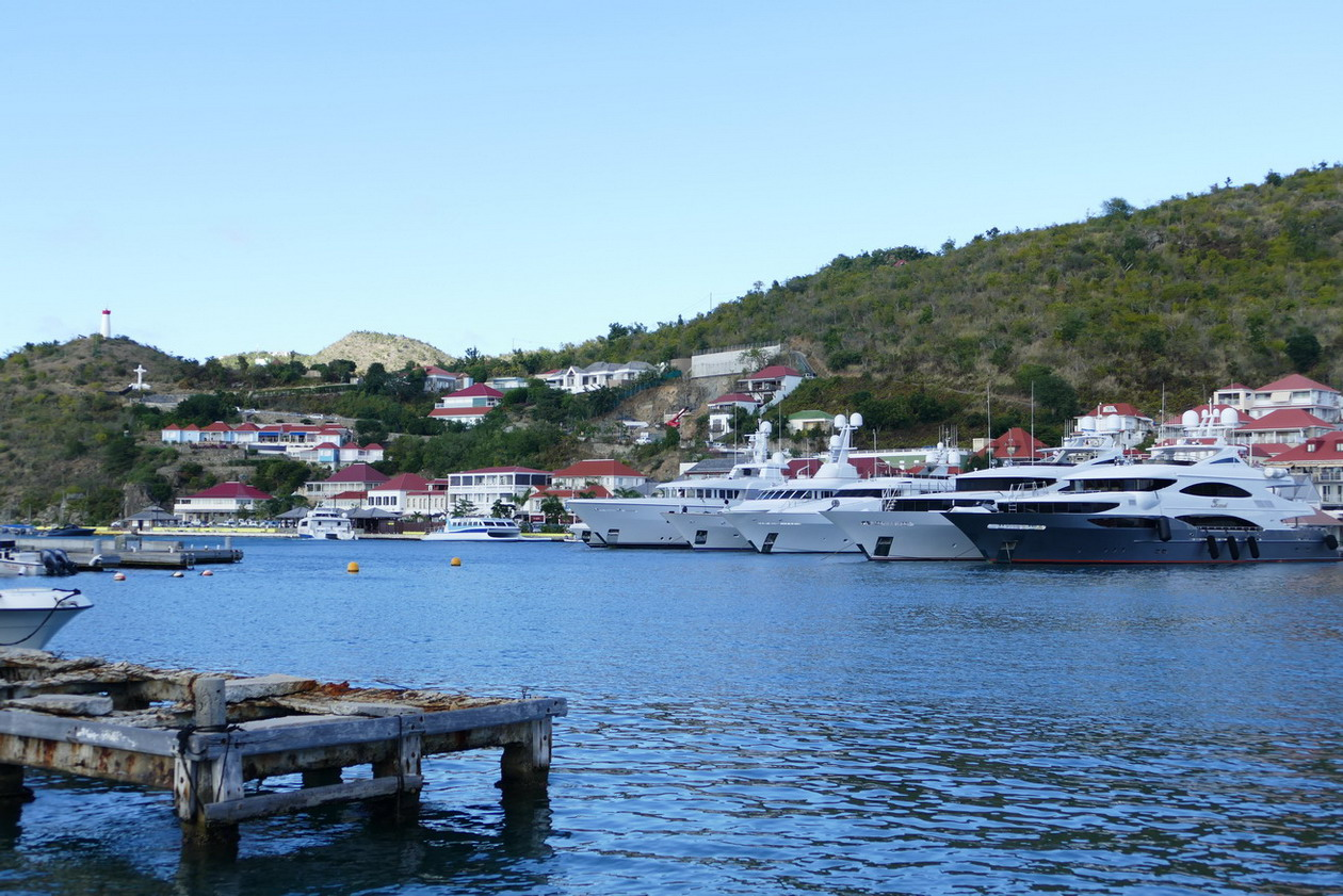 06. St Barth, Gustavia, le port