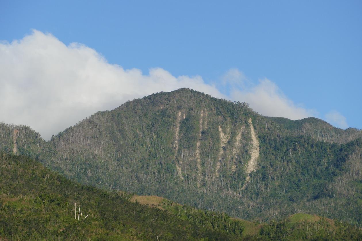 07. La Dominique ; le cyclone Maria a laissé des traces