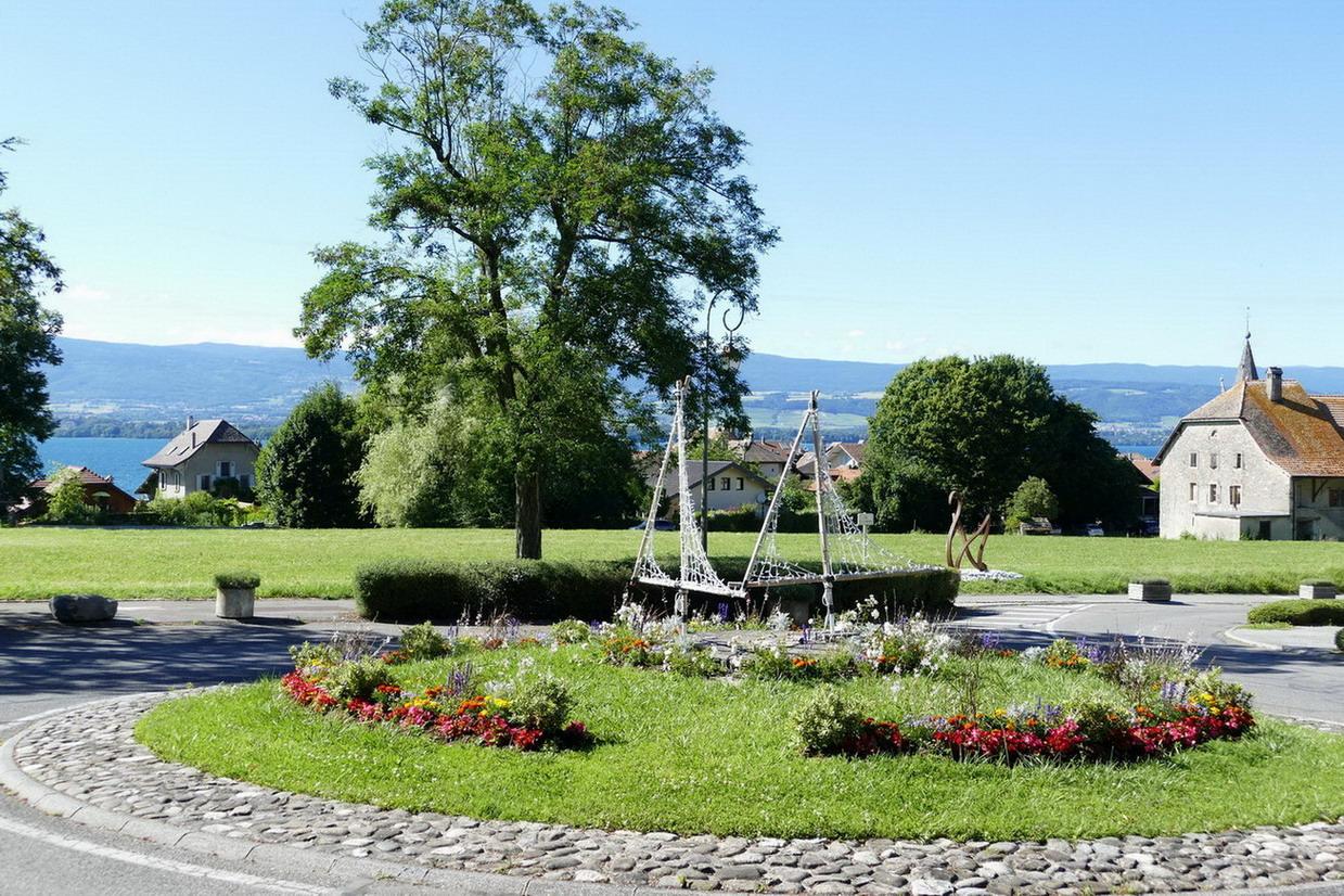 07. Lac Léman - Nernier, petit village pittoresque où a séjourné Lamartine