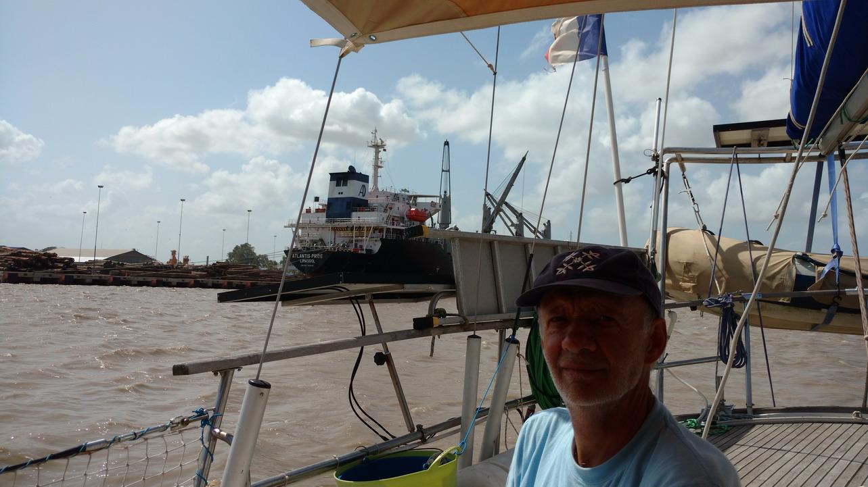 07. Port commercial de Paramaribo