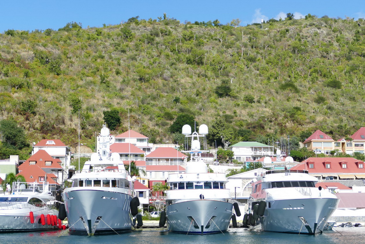07. St Barth, Gustavia, le port
