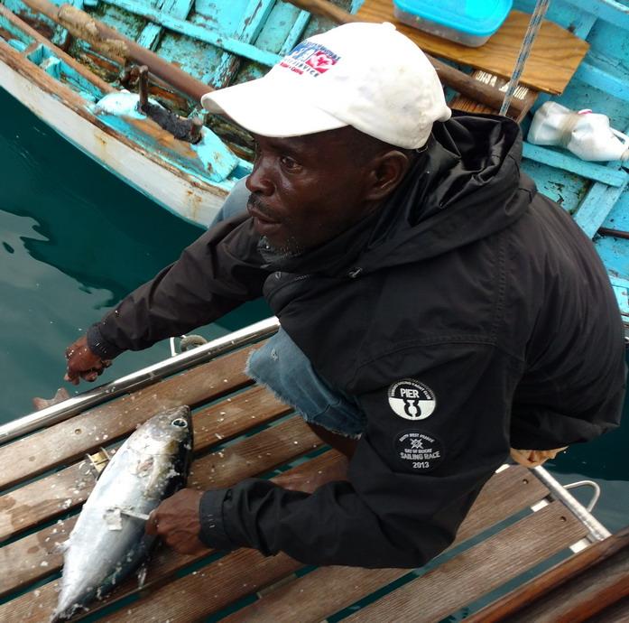 07. Wallilabou, un thon de 800 g nous fera 2 repas
