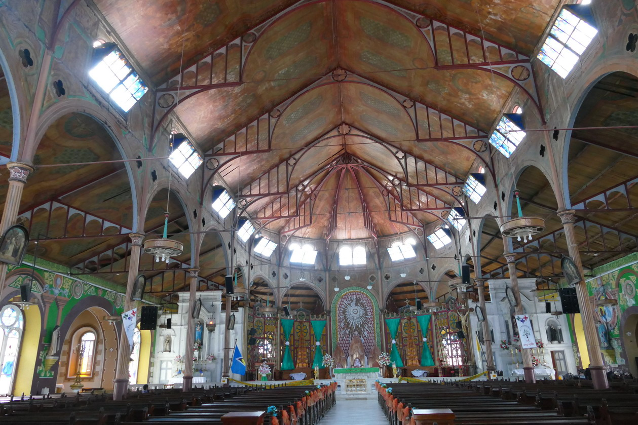 08. Castries, la basilique