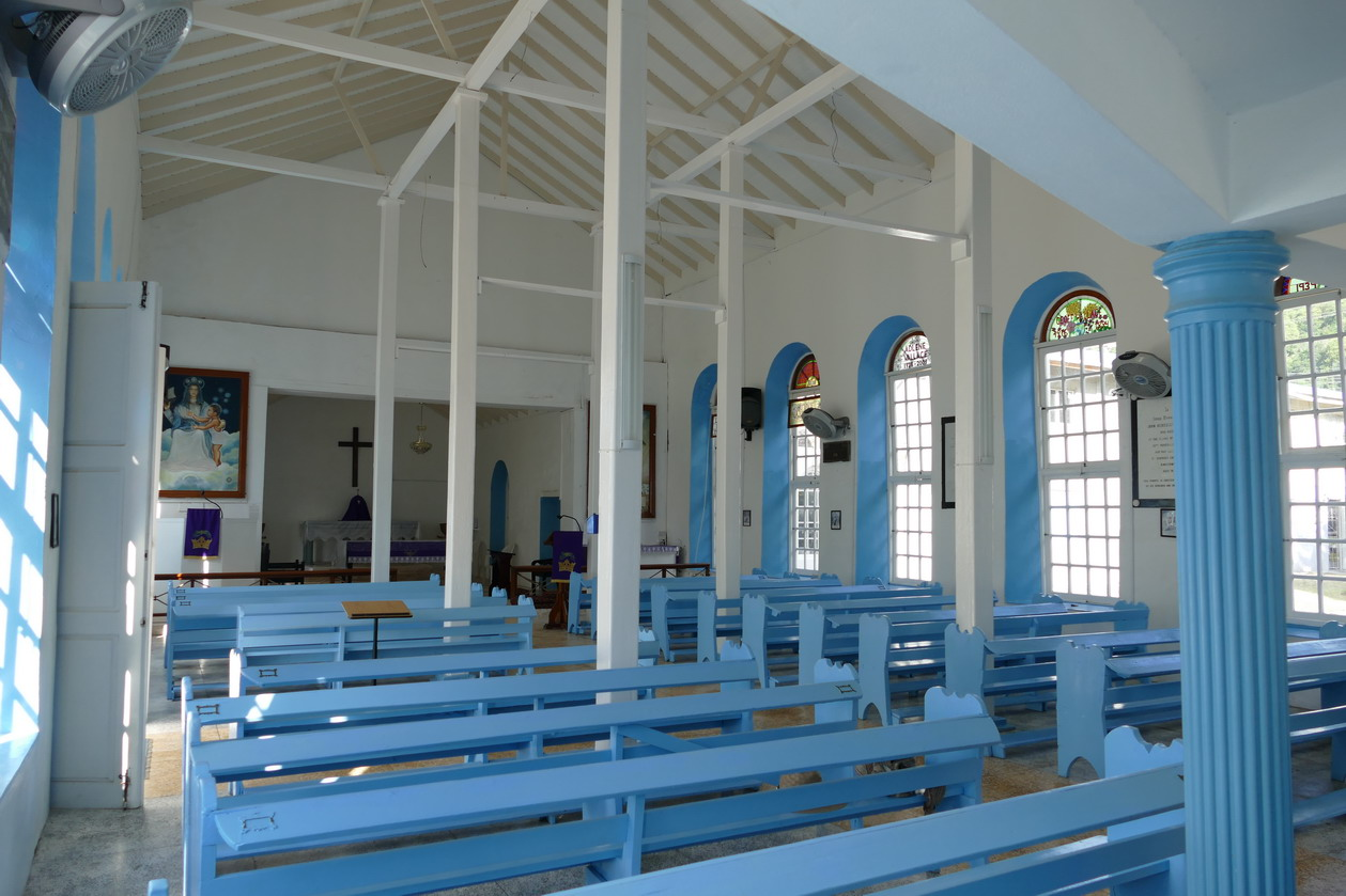 110. Bequia, Port Elisabeth, l'église anglicane