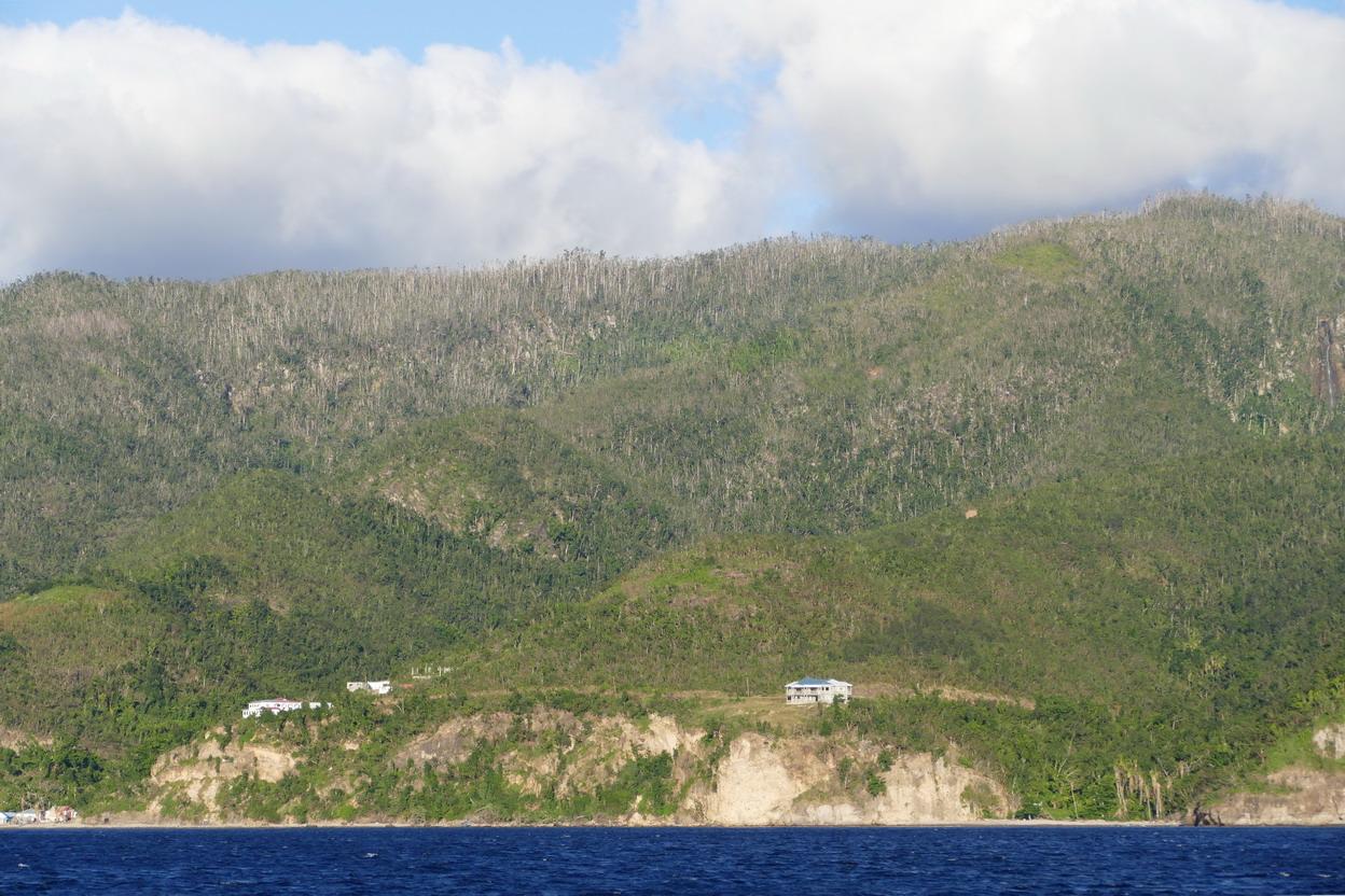 09. La Dominique ; le cyclone Maria a laissé des traces