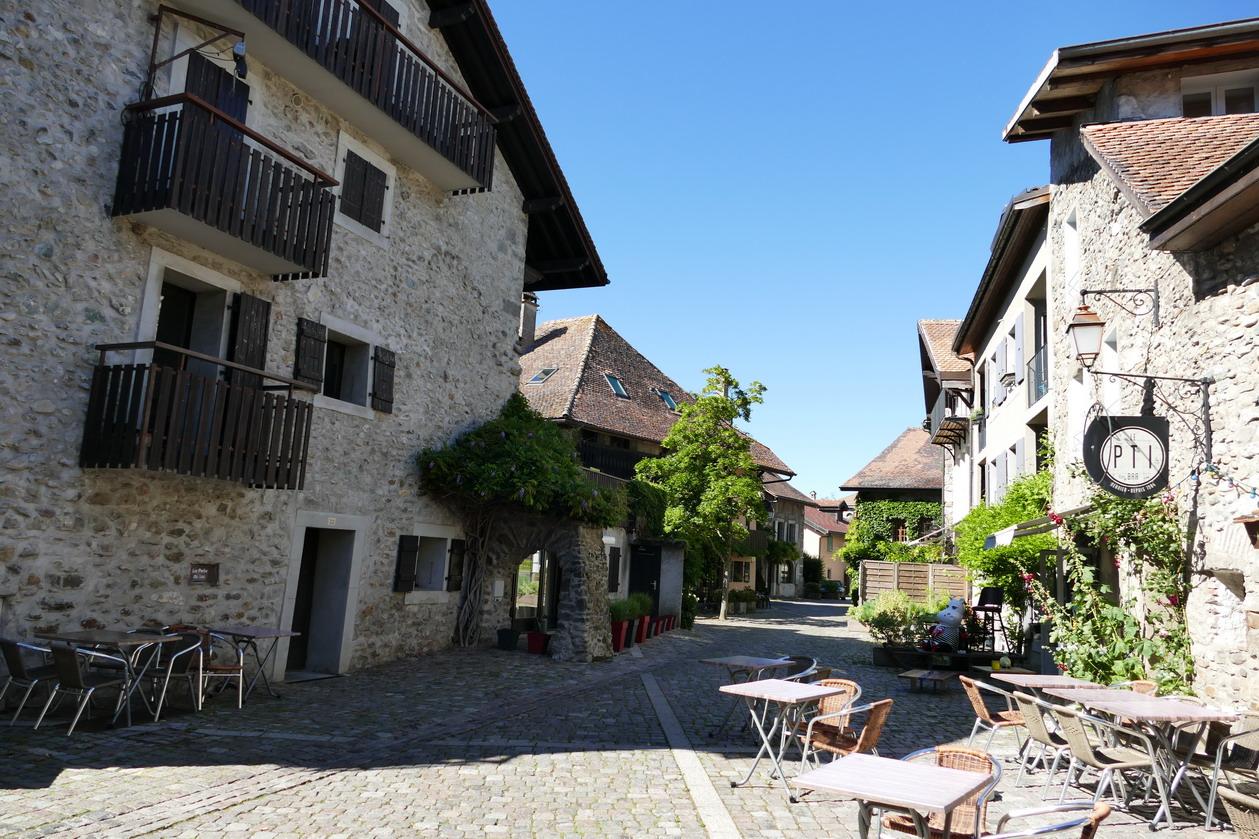09. Lac Léman - Nernier, petit village pittoresque où a séjourné Lamartine