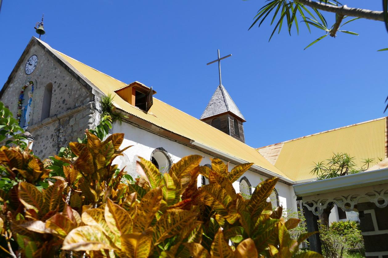09. L'archipel des Saintes et l'église du Bourg sur Terre-de-haut