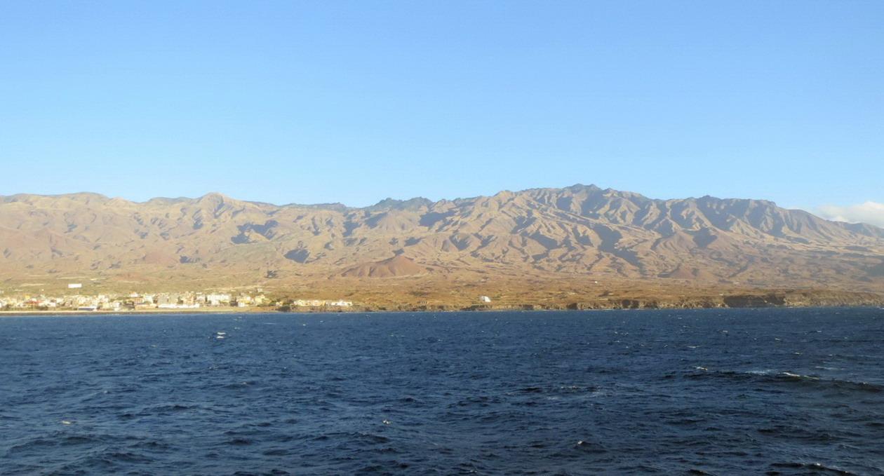 1. Arrivée par ferry à Porto Novo sur l'île de San Antao