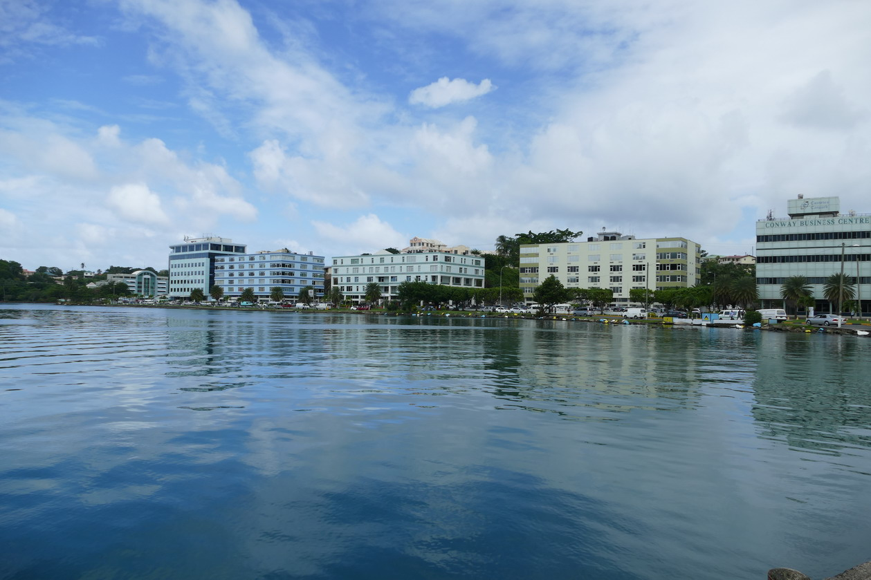 10. Castries, le bassin portuaire