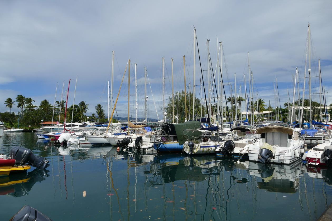 10. La marina de la Pointe du Bout