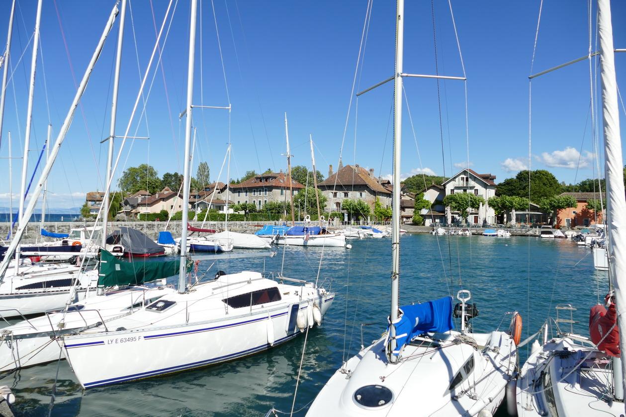 10. Lac Léman - Nernier, petit village pittoresque où a séjourné Lamartine