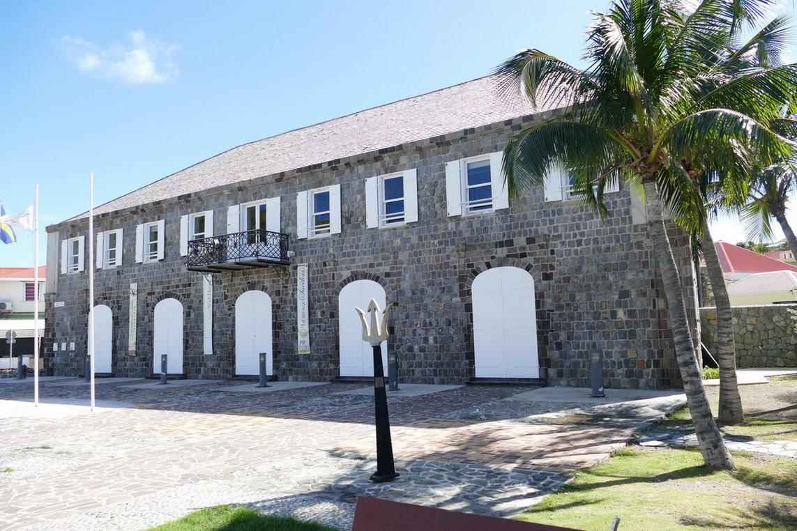 10. St Barth, Gustavia, la maison suédoise
