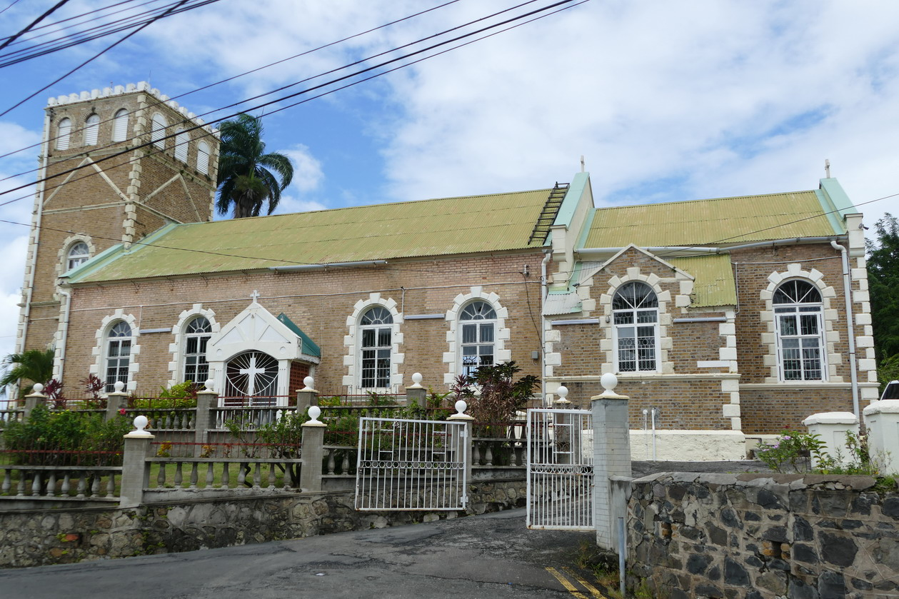 11. Castries, l'église anglicane de la Sainte Trinité