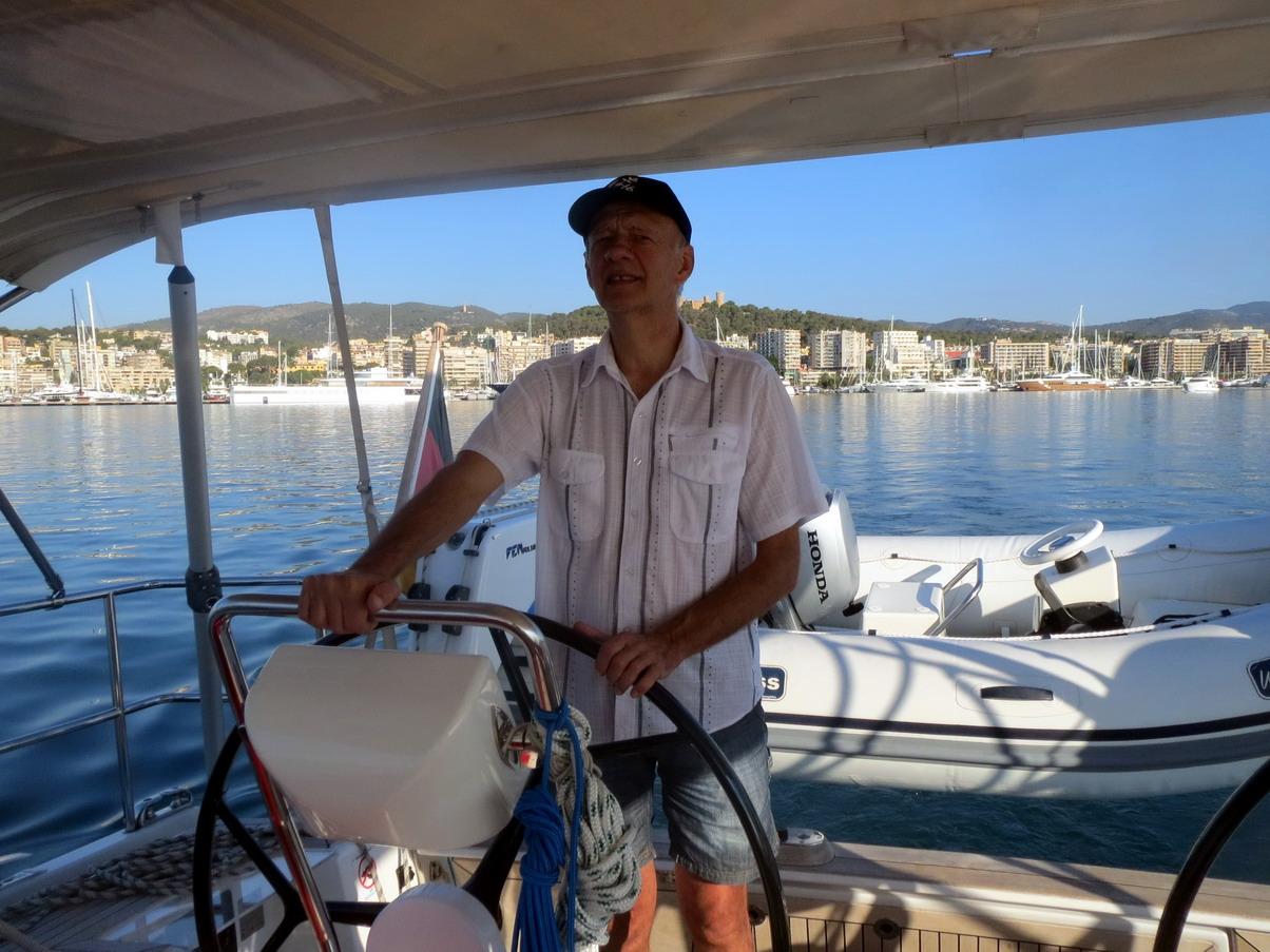 11. Palma est derrière nous ; autre bateau, autres habitudes