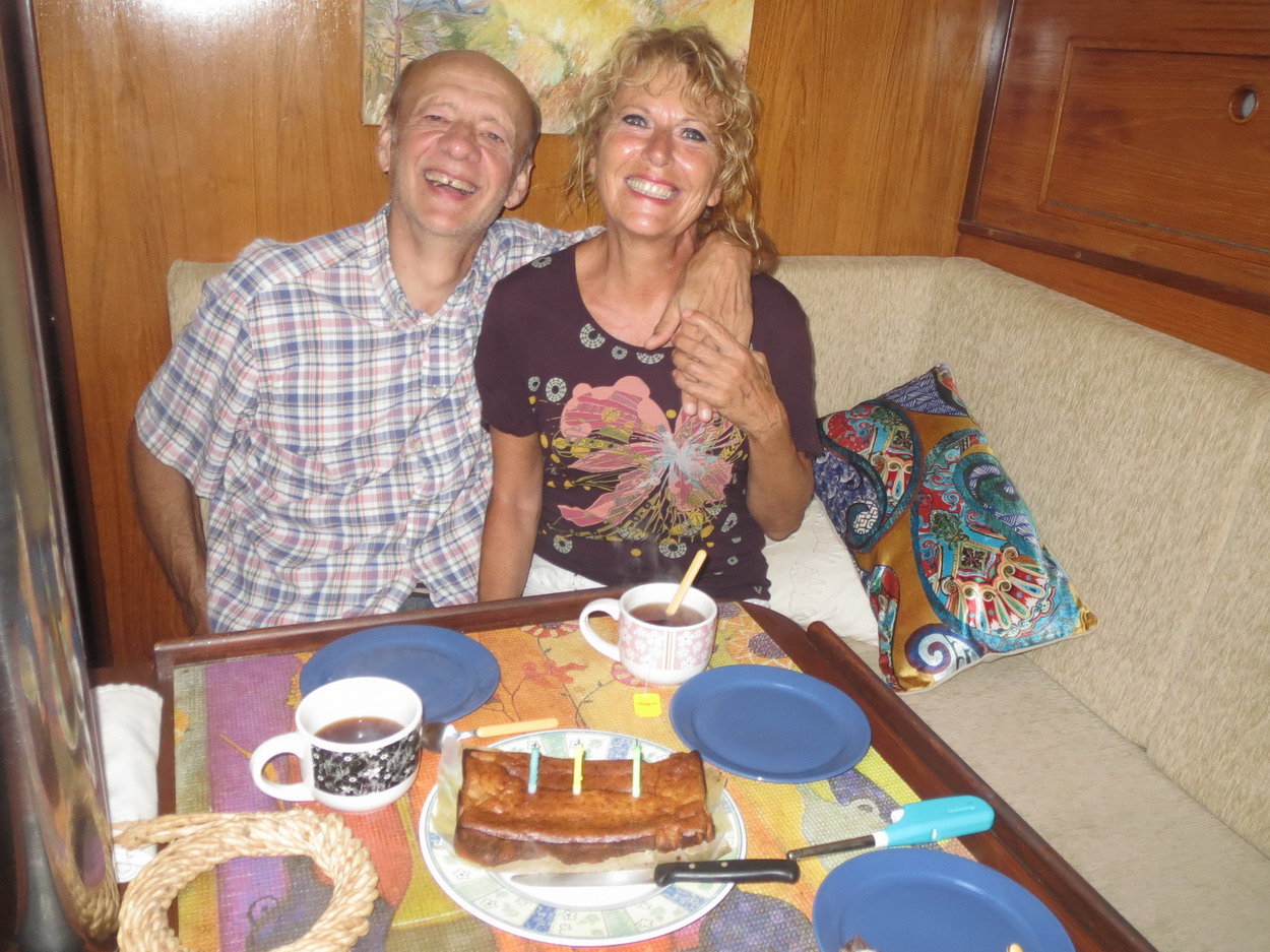 11. Un gâteau de Nathalia pour fêter le 31ème anniversaire de notre rencontre