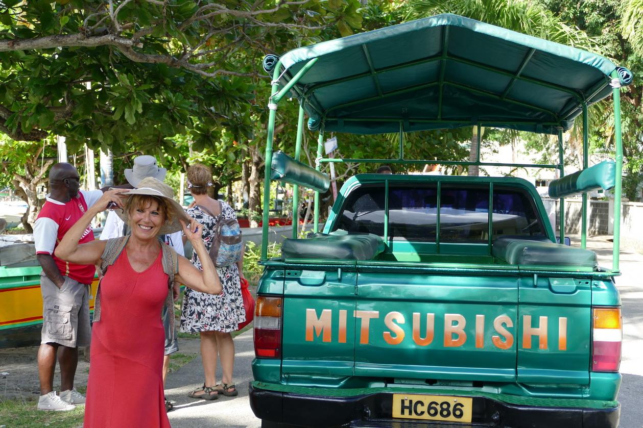12. Bequia, Port Elisabeth, Mitsubishi en vedette